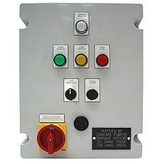 Control Panels and main rising design