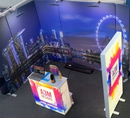 A3M supply exhibition stands and display stands