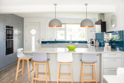 Now Kitchens, family kitchen Porthleven