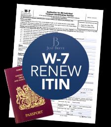 Form W-7 Renew ITIN Application