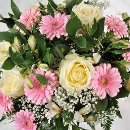 Delivery of funeral flowers in Brampton