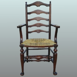 Ladderback chair restored by peter white furniture