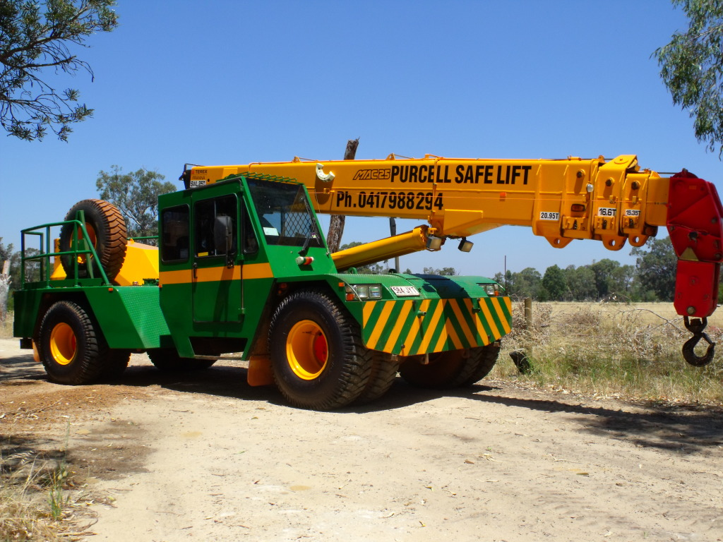 Purcell Crane Hire Services Port Hedland and State Wide