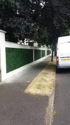 decorative hedge panels