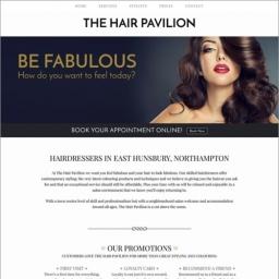 The Hair Pavillion Website