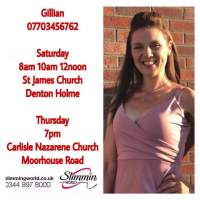 Slimming World with Gill on Thursday