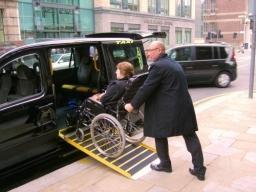 E7 Wheelchair Accessible Taxi