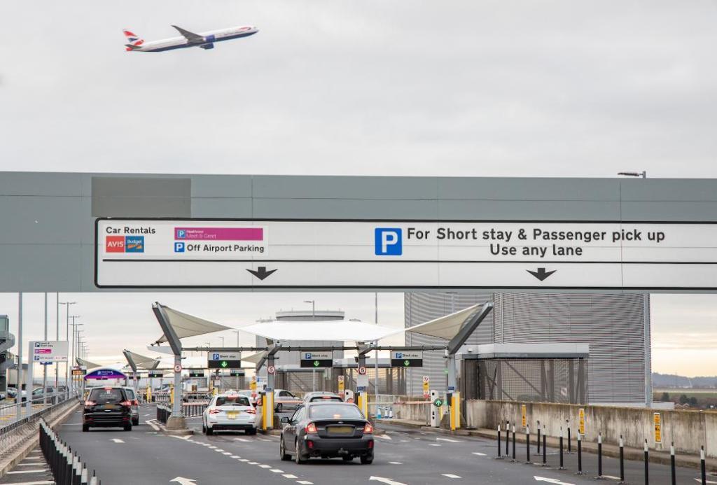 Heathrow Short Stay Parking Terminal 5 Wellington Road