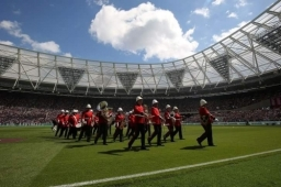 Mfl Brass Band West Ham Fc Stadium 07 08 16