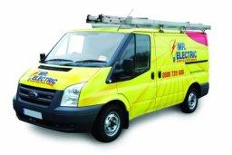 Mr Electric van in Birmingham