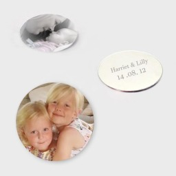 Personalised Locket Photo Backplates