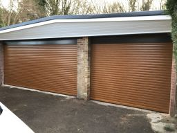 Double Roller Garage Door