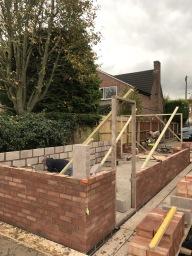Garage built in brickwork Leicester