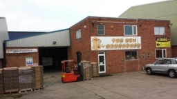Our warehouse in Birmingham