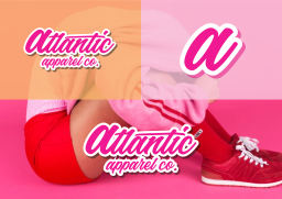 Averma Atlanta logo design in Gatwick