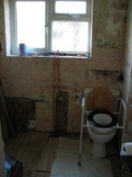 Wet Room Before