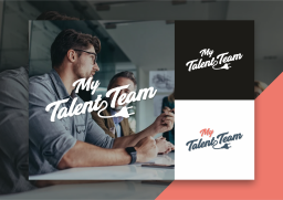 Averma mytalent.team logo design in Crawley