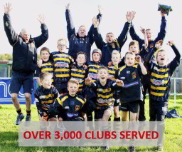 Aramis Rugby - Supplier to over 3000 rugby clubs