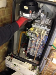 Heating Engineer in Bromly carried out boiler repa
