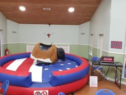 Rodeo Bull hire in Chesterfield and Sheffield