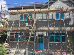 External wall insulation installer
