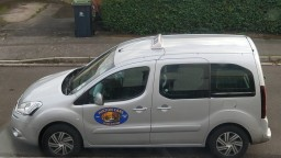 our wheelchair accessible taxi