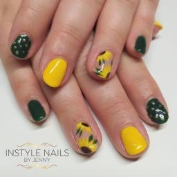 Hand Painted Sunflowers