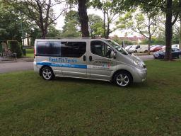 Fast Fit Tyres Hull Crew Van