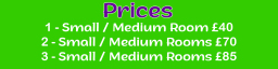 Our Domestic Carpet Cleaning Prices Stockport