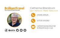 Catherine Blackburn Specialist at Brilliant Travel