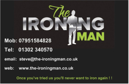 Once you've tried us you'll never iron again