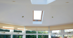 Guardian tiled roof ceiling Peterborough