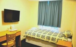 A Single room at Heathrow Lodge