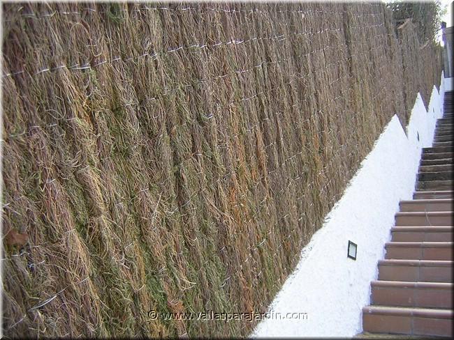 Vallas para jardin de brezo natural y seto artificial - Setos para vallas ...