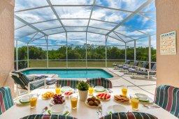 Breakfast by the pool