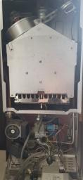 Boiler Repair Glasgow - Opened Boiler Casing