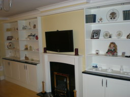 Hand made fitted lounge furniture