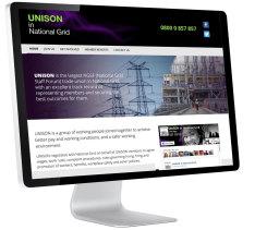 Unison in National Grid website