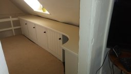 Built in desk and cupboards Hitchin