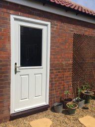 composite back door