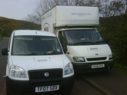 MWAV Fleet of Vans. Man with a van Edinburgh Ltd.