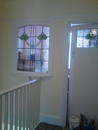 Landing window (After painting)