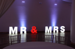 MR & MRS, indoor and oudoor use