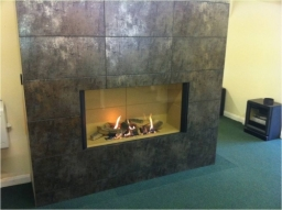 Gazco Whole In The Wall Gas Fire