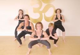 Wonderful teachers at Aruna Yoga, Rathcoffey