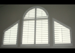 Shaped windows and doors (Arches and Triangles)