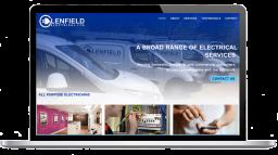 Glenfield Electrical website