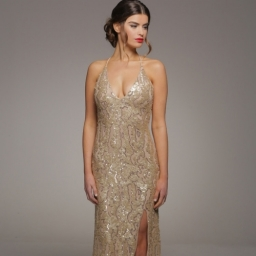 Honor Gold Gia Maxi Front