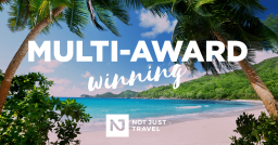 Not Just Travel are a Multi Award Winning Company