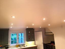Down light installation by Dara Electrical Sutton